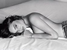 Miranda Kerr topless Sebastian Faena 2014 photoshoot 5x UHQ
