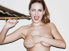 Sabine Jemeljanova topless Page 3 photo shoot 2014 May 3x HQ