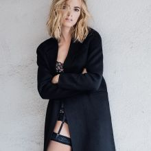 Emily Wickersham sexy lingerie 2015 photo shoot for Da Man 6x HQ