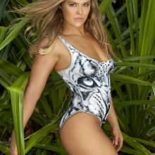 Ronda Rousey nude naked topless bodypaint see through Sports Illustrated sexy Swimsuit 2016 photo shoot 34x HQ
