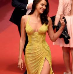 Irina Shayk pantyless upskirt 'Hikari' premiere at the 70th Cannes Film Festival 59x UHQ photos