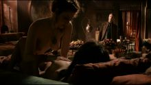 Game of Thrones S01 E07 Esme Bianco and Sahara Knite nude naked lesbian sex scene
