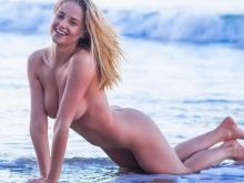 Genevieve Morton nude topless see through photo shoot by Tyler Kandel 34x MixQ photos