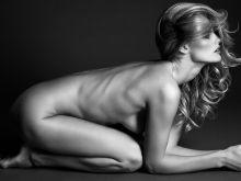 Edita Vilkeviciute nude Lui Magazine December 2015 issue 2x UHQ