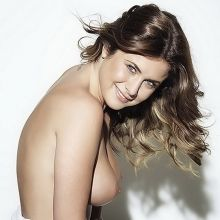 Kelly Hall topless Page 3 photo shoot 2014 July 3x HQ