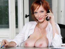 Christina Hendricks from Mad Men topless photoshoot UHQ