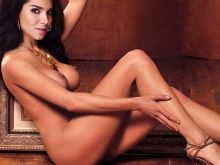 Roselyn Sanchez from Devious Maids nude art photoshoot UHQ