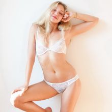 Jessie Andrews see through lingerie by Terry Richardson 2014 July 9x HQ