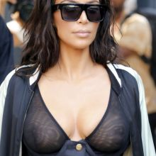 Kim Kardashian braless see through top out and about in New York 25x UHQ photos