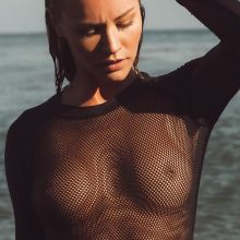 Bryana Holly see through top in Nando Esparza photoshoot 9x HQ