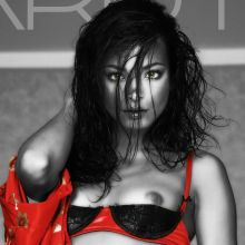Kristin Kreuk nude FHM magazine cover photo shoot UHQ