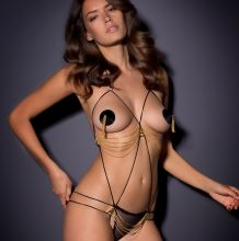 Michea Crawford hot see through Agent Provocateur Lingerie 47x HQ
