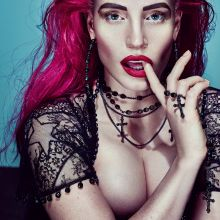 Jessica Chastain see through photo shoot for W Magazine 2015 November 9x UHQ