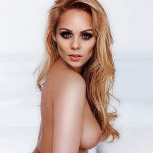 Laura Vandervoort nude Playboy magazine celebrity cover naked photo shoot UHQ