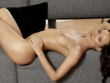 Olivia Wilde nude on the couch UHQ