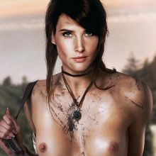 Cobie Smulders nude Avengers Age of Ultron poster UHQ