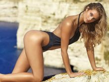 Kate Bock nude naked topless bodypaint see through Sports Illustrated sexy Swimsuit 2016 photo shoot 39x HQ