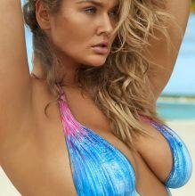 Hunter McGrady - Sports Illustrated Swimsuit 2017 nude bodypaint big boobs big ass 12x HQ photos