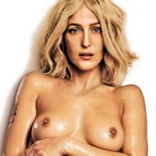 Gillian Anderson nude Treats! magazine photoshoot by Terry Richardson UHQ