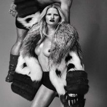 Lara Stone topless Steven Klein photo shoot 19x HQ photos