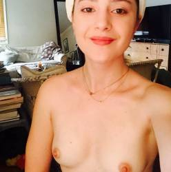 Alexa Nikolas leaked naked topless nude selfies 22x HQ photos