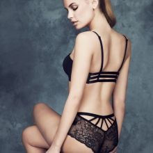 Carmen Bründler sexy Marks and Spencer lingerie 2014 Spring-Summer 20x HQ