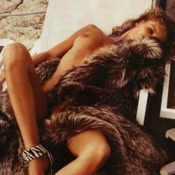 Edita Vilkeviciute nude Lui Magazine 2013 December 7x UHQ