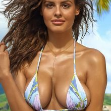 Bo Krsmanovic nude naked topless bodypaint see through Sports Illustrated sexy Swimsuit 2016 photo shoot 32x HQ