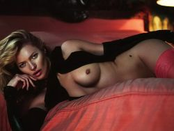 Kate Moss nude Playboy 2014 January February 14x HQ