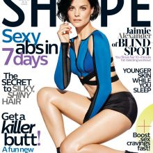 Jaimie Alexander sexy for Shape magazine 2016 March 8x UHQ photos
