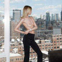 Martha Hunt nude Elle magazine photo shoot 8x HQ