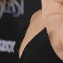 Emma Watson nip slip at Beauty Beast premiere in LA HQ photo