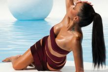 Nicole Scherzinger sexy Tight Bandages photo shoot 100x HQ