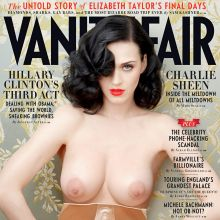 Katy Perry topless on Vanity Fair cover UHQ