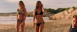 Ana de Armas, Gaia Weiss - Overdrive 1080p bikini lingerie sex scenes