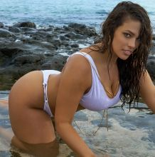 Ashley Graham - Sports Illustrated Swimsuit 2017 topless bare ass see through bodypaint tiny bikini big boobs big ass 33x HQ photos