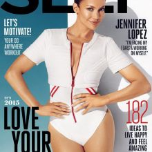 Jennifer Lopez in Sexy Bodysuit for Self Magazine 2015 January 2015 3x HQ
