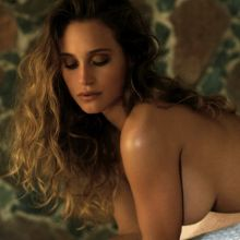 Hannah Davis topless for Maxim magazine 2016 March issue 18x HQ photos