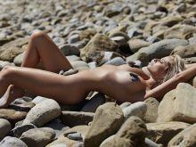 Genevieve Morton nude Randall Slavin 2014 photoshoot 7x HQ