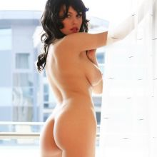 Eve Wyrwal strip nude photo shoot 24x UHQ