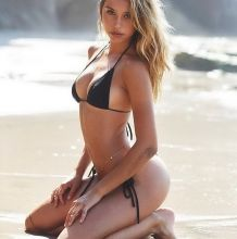 Alexis Ren sexy bends over for Josie Clough photo shoot 9x HQ photos