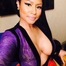 Nicki Minaj see thru braless and cleavage pics from Instagram 2015 October 4x HQ