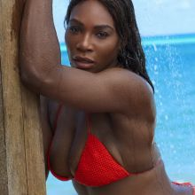 Serena Williams - Sports Illustrated Swimsuit 2017 topless bare ass nip slip tiny bikini big boobs big ass 30x HQ photos