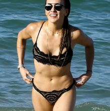 Katie Cassidy sexy bikini candids on the beach in Miami 117x HQ photos
