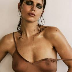 Emily DiDonato nude topless see through photoshoot for Narcisse magazine 23x HQ photos
