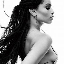 Zoe Kravitz sexy see through photo shoot for California Style 2015 October 6x HQ