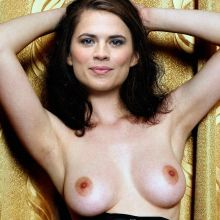 Hayley Atwell from Agent Carter topless HQ photo