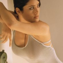 Salma Hayek sexy Mark Anderson 1999 Photoshoot 4x UHQ