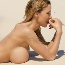 Jordan Carver topless Beachtime photoshoot 28x HQ