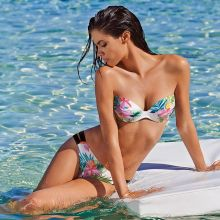 Sara Sampaio sexy Calzedonia beachwear 2015 collection 30x HQ
